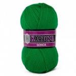 Пряжа для вязания Гонка KARTOPU зеленый 416
