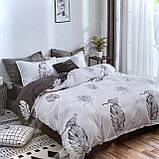 Постельное белье ( простынь на резинке ) | Двуспальный комплект постельного белья | Постільна білизна, фото 2
