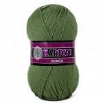 Пряжа для вязания Гонка KARTOPU оливковый 430