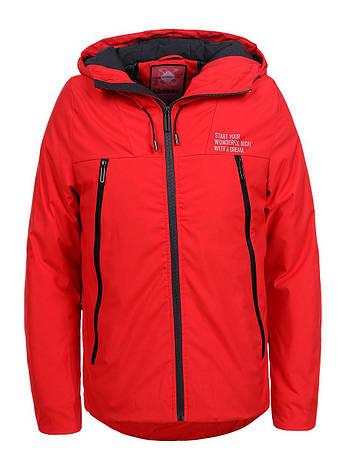Демісезонна куртка  для хлопчика  червона  Glo-Story 134/140, фото 2