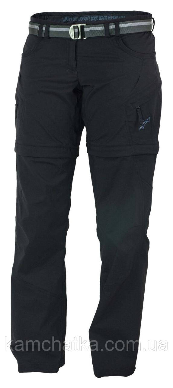 Купить Штаны женские Warmpeace Rivera Zip-Off Pants Black M (WMP 4254.black-M)