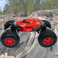 Машинка на радиоуправлении трансформер Dance Monster (1:12)  2.4G STUNT Красная