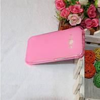 TPU чехол для Samsung Galaxy J1 Ace Duos J110 розовый