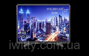 "Телевизор JVC 22"" СМАРТ приставка в ПОДАРОК FullHD+DVB-T2+USB (1080р), фото 2"