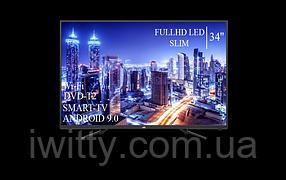 """Телевизор JVC 34"""" Smart-TV/Full HD+DVB-T2+USB Android 9.0, фото 3"""