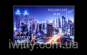 """Телевизор JVC 42"""" Smart-TV+Full HD+DVB-T2+USB Android 9.0, фото 3"""