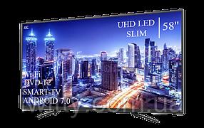 """Телевизор JVC 58"""" Smart-TV+DVB-T2+USB Android 7.0 4К/UHD, фото 3"""