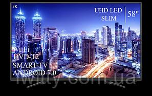 """Телевизор JVC 58"""" Smart-TV+DVB-T2+USB Android 7.0 4К/UHD, фото 2"""