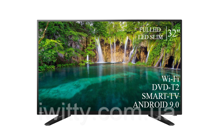 "Телевизор Toshiba 32"" Smart-TV+Full HD+DVB-T2+USB  Android 9.0"
