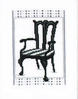 """Набор для вышивки крестом """"Стул в стиле барроко 2"""""""