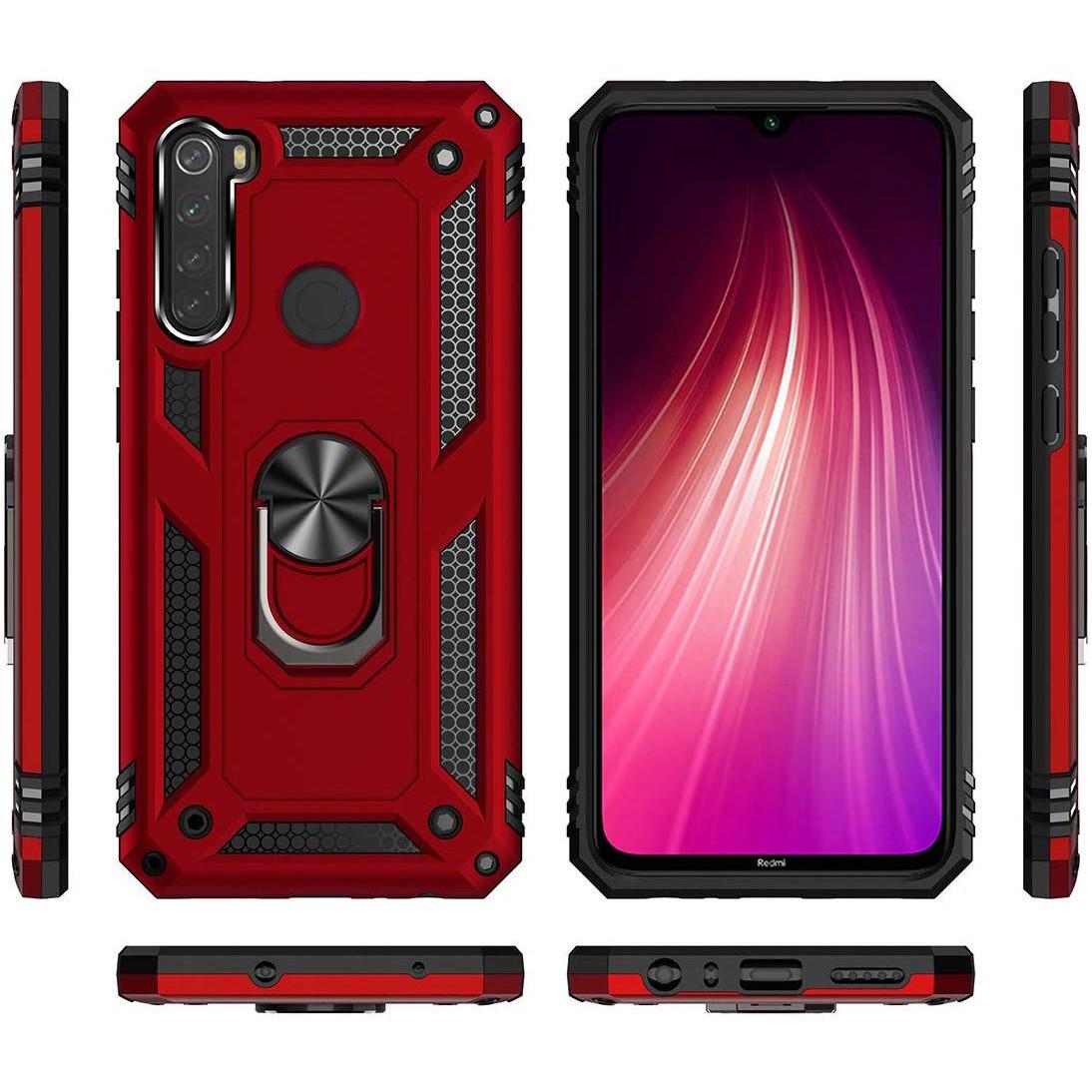 Xiaomi Redmi Note 8 (32816) Красный чехол на ксяоми редми нот 8
