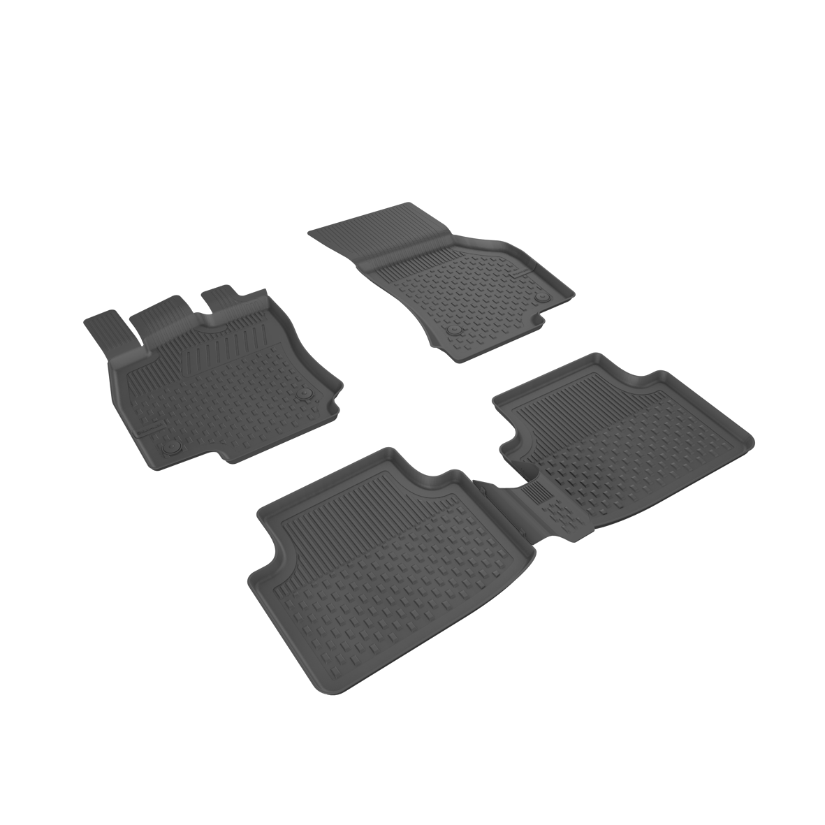 Автомобильные коврики в салон SAHLER 4D для VOLKSWAGEN Passat B8 2015-2020 VW-12