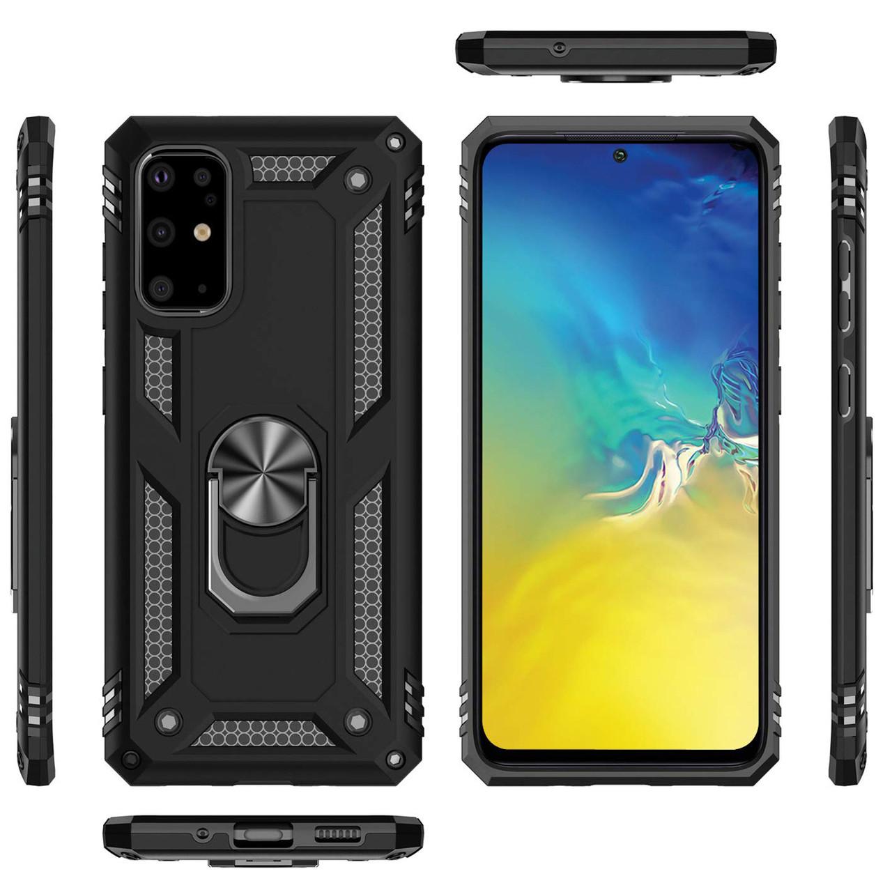 Купить Samsung Galaxy S20+ (34181) Черный чехол на самсунг с20+