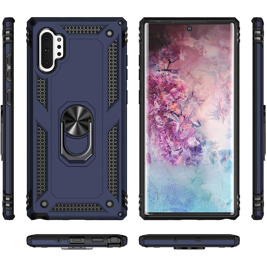 Samsung Galaxy Note 10 Plus (36100) Темно-синий чехол на самсунг нот 10 плюс