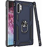 Samsung Galaxy Note 10 Plus (36100) Темно-синий чехол на самсунг нот 10 плюс, фото 2
