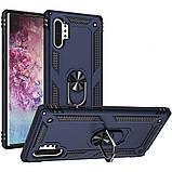 Samsung Galaxy Note 10 Plus (36100) Темно-синий чехол на самсунг нот 10 плюс, фото 3