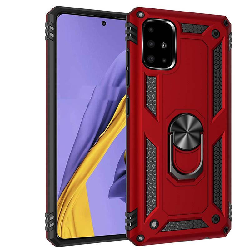 Купить Samsung Galaxy A51 (34176) Красный чехол на самсунг а51