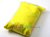 Мраморный цветной песок №1 -250г, желтая сера