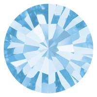 Пришивные стразы в цапах Preciosa (Чехия) ss20 Aquamarine/серебро