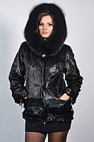 Куртка из морского котика с капюшоном, фото 1