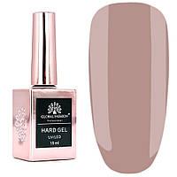 Гель для наращивания и укрепления ногтей Global Fashion Hard Gel № 9