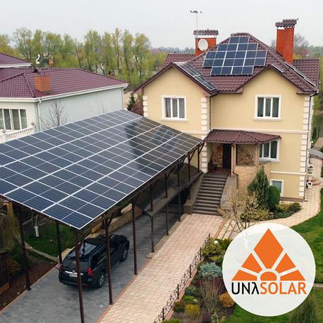 Сонячні електростанції UNASOLAR™ для приватних домогосподарств
