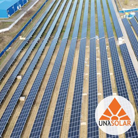 Сонячні електростанції UNASOLAR™ для бізнесу