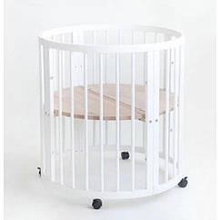 Кроватка Dreemmy 7в1 белая