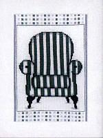 """Набор для вышивки крестом """"Кресло в стиле барроко"""""""