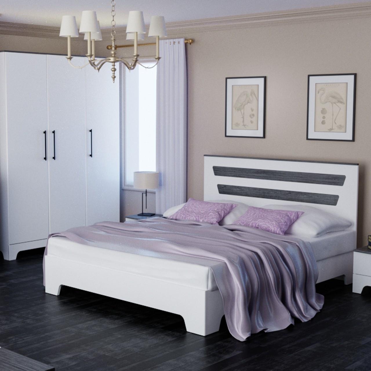 Кровать двуспальная Элен