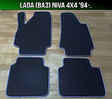 ЕВА коврики на Lada (Ваз) Niva 4x4 '94-. Ковры EVA Нива