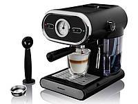 Эспрессо-машина Silvercrest SEM 1100 B3 1100 Вт 01476
