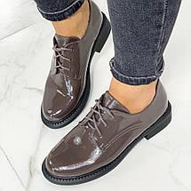 Коричневые женские туфли 633 (ТМ), фото 2