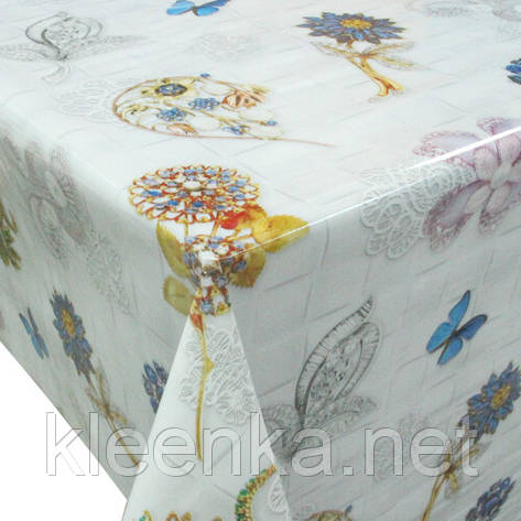 Скатерть-клеенка кухонная на обеденный стол, фото 2