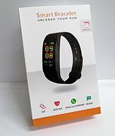 Фитнес браслет M5 Band Smart Watch Bluetooth 4.2, шагомер, фитнес трекер, пульс (Копия)