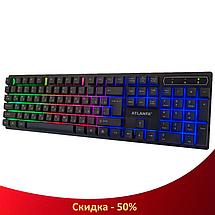 Ігрова клавіатура з підсвічуванням Atlanfa AT-6300, фото 2