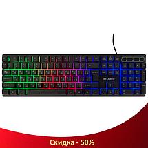 Ігрова клавіатура з підсвічуванням Atlanfa AT-6300, фото 3