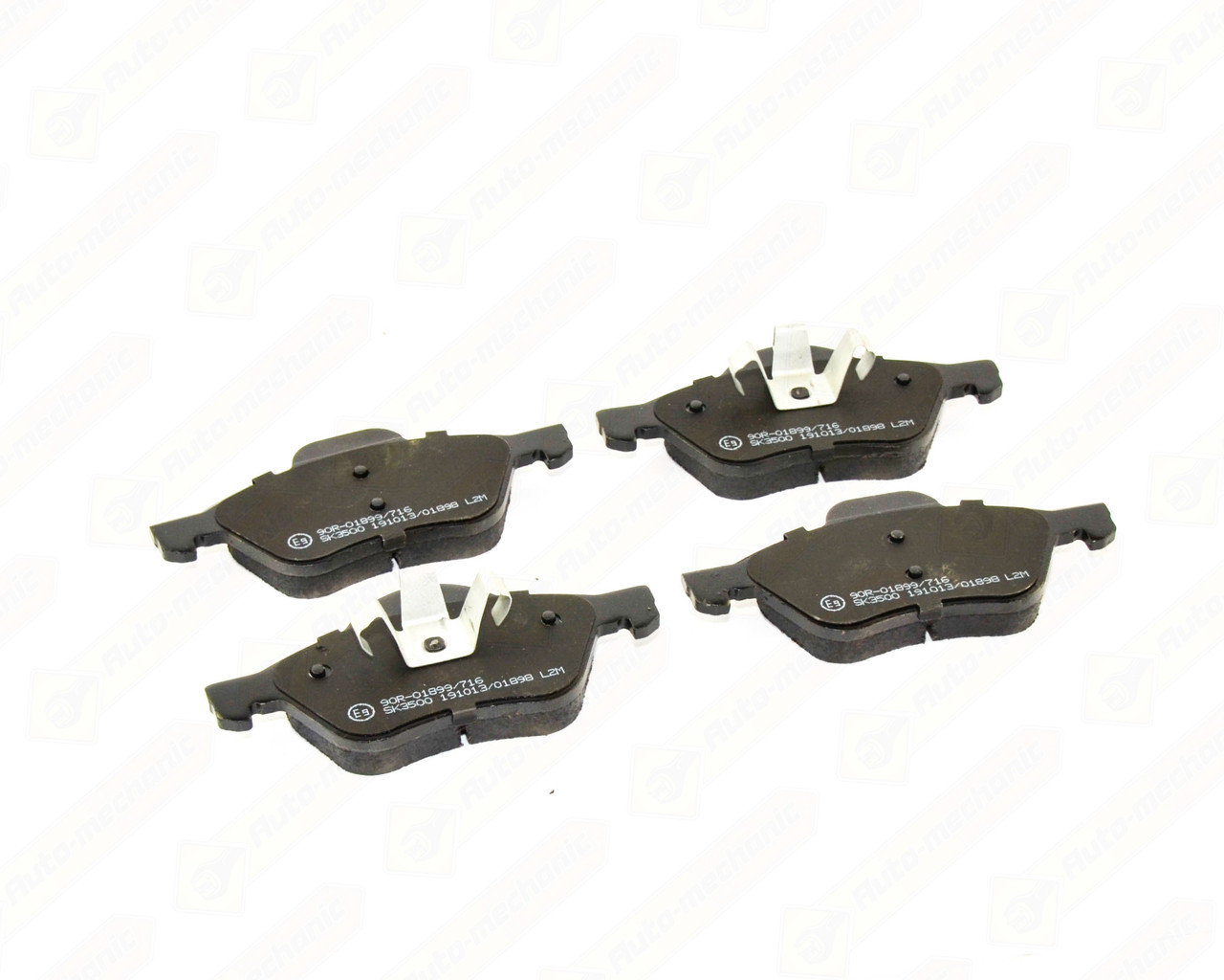 Купить Тормозные колодки, Дисковые тормозные колодки (передние) на Renault Scenic II 2001->2009 - LPR - LPR05P1279