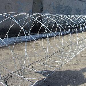 Егоза Аллигатор 1500/9 спиральная колючая проволока