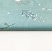 """Польская хлопковая ткань """"Веточки с тучками на мятном"""", фото 2"""