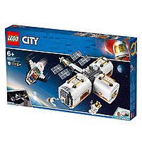 Конструктор LEGO City Лунная космическая станция 60227
