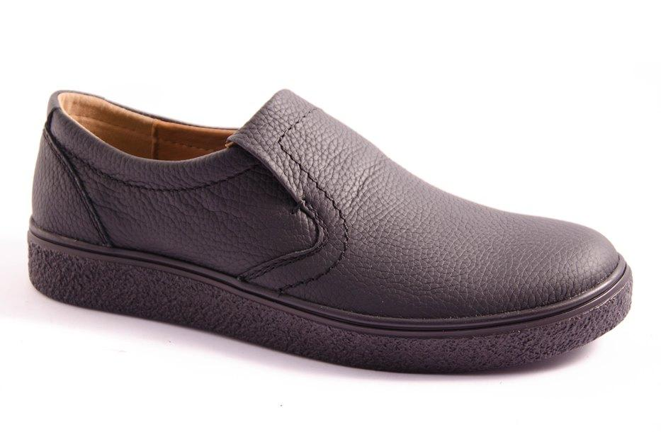 Туфли мужские черные Vortex 770/N