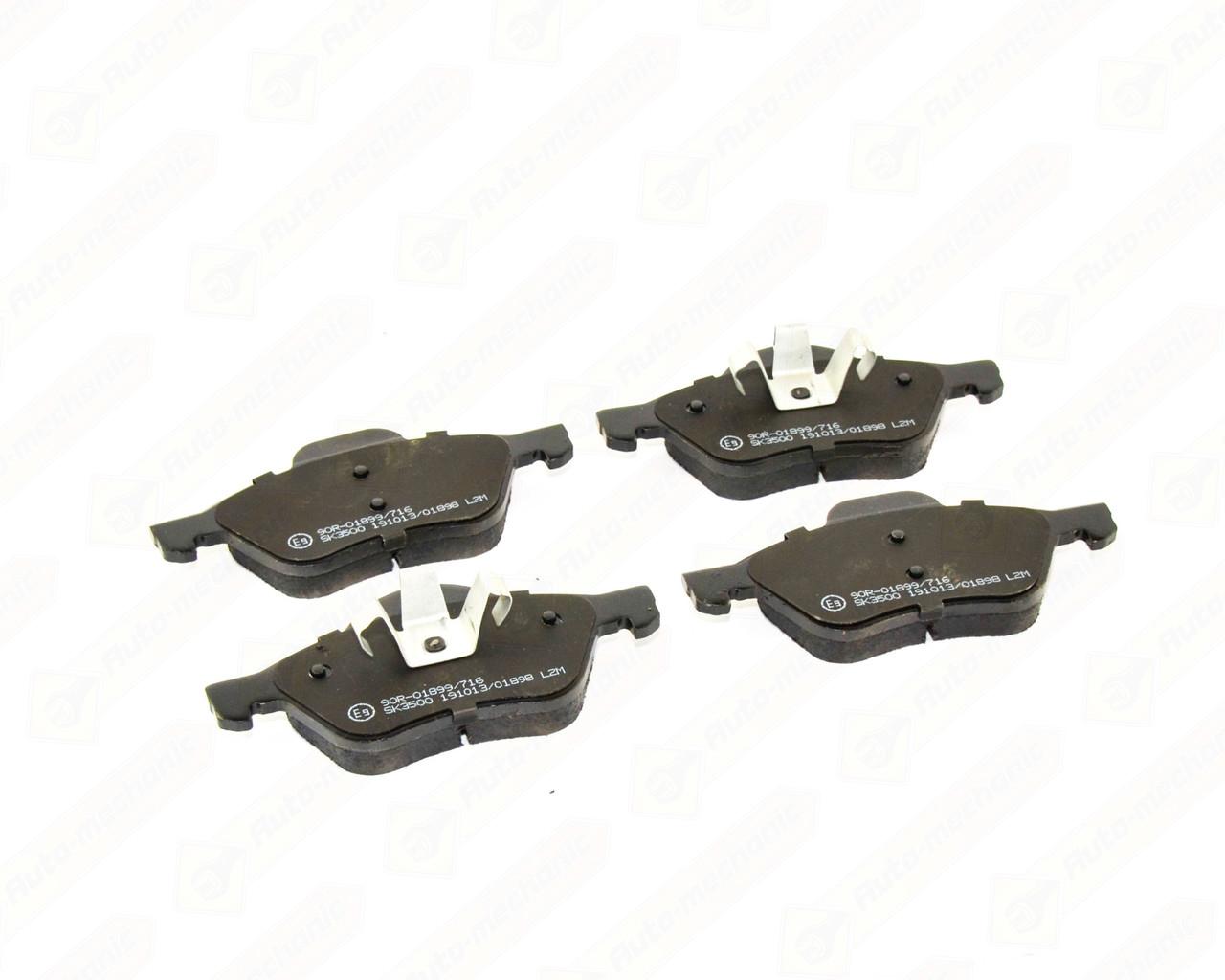 Купить Тормозные колодки, Дисковые тормозные колодки (передние) на Renault Clio III 2005->2012 - LPR - LPR05P1279
