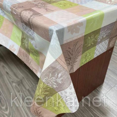 Скатерть клеенчатая силиконовая на кухонный стол, фото 2