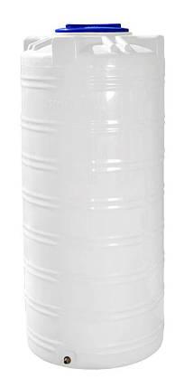 Бочка, бак, емкость 750 литров узкая пищевая вертикальная 700 800 RVО, фото 2