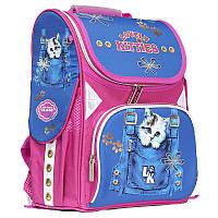 Рюкзак школьный ортопедический каркасный CLASS Kitty LK  9921, фото 1