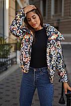 """Стеганая женская куртка на синтепоне """"Sylvie"""" с карманами (4 цвета), фото 2"""