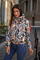 """Стеганая женская куртка на синтепоне """"Sylvie"""" с карманами (4 цвета)"""