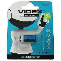 Батарейка  CR2   Videx  блистер  (для  фотоаппаратов)