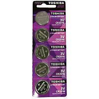 Батарейка Toshiba  CR2016 Литий 3V